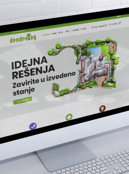 izrada sajta za dendrolog