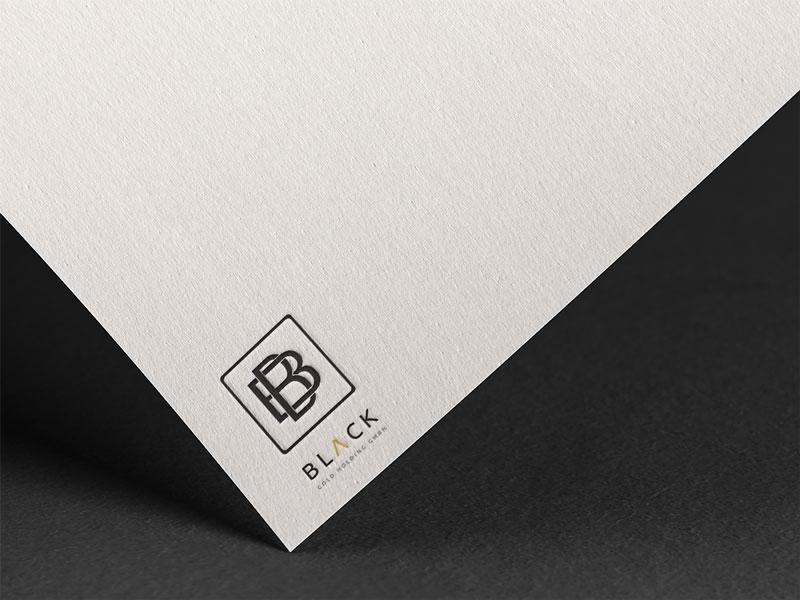 dizajn logotipa za black gold holding