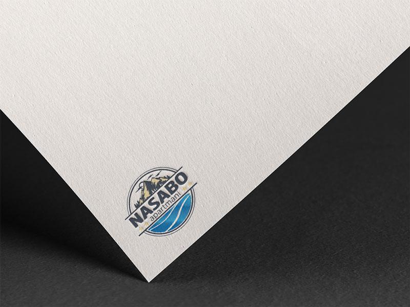 dizajn logotipa za nasabo apartmane