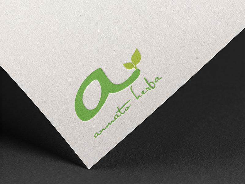 logo dizajn za anmato herba