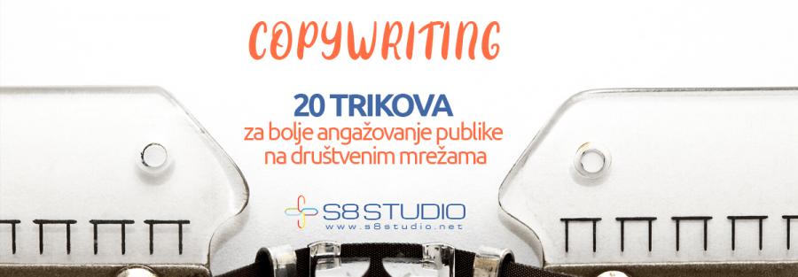 Copywriting - 20 trikova za angažovanje publike na društvenim mrežama 1