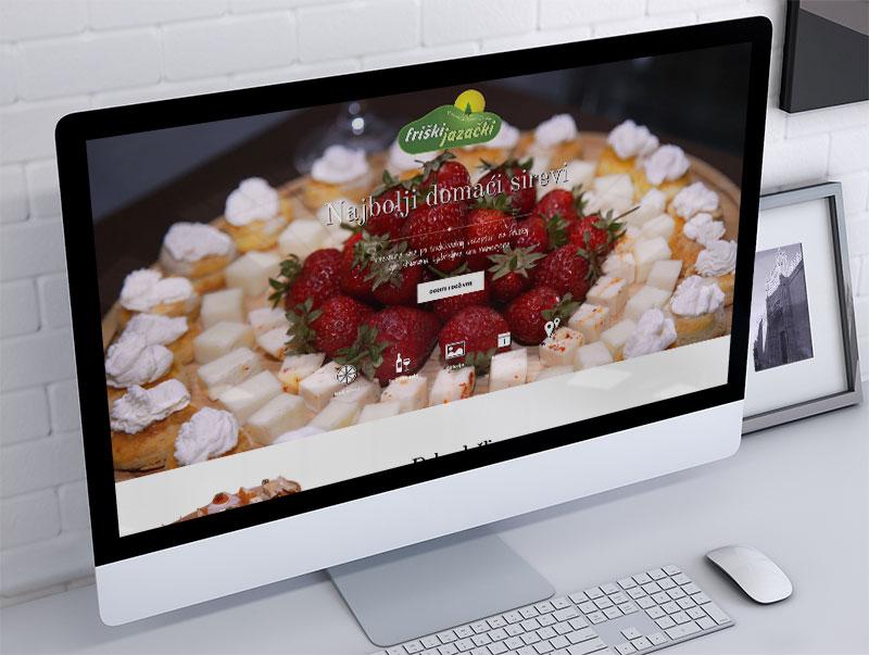 izrada sajta za friški jazački sir