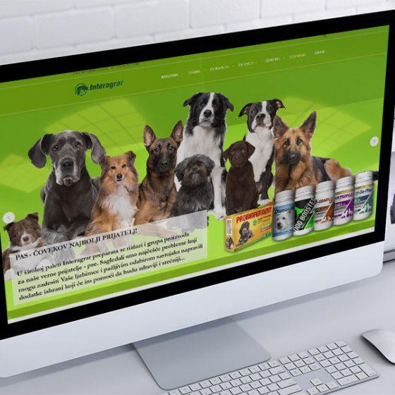 izrada web sajta za interagrar