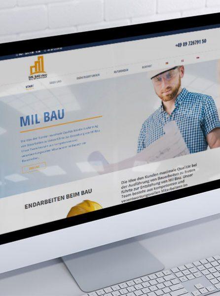 izrada sajta za milbau