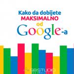 Kako dobiti maksimalno od Google-a