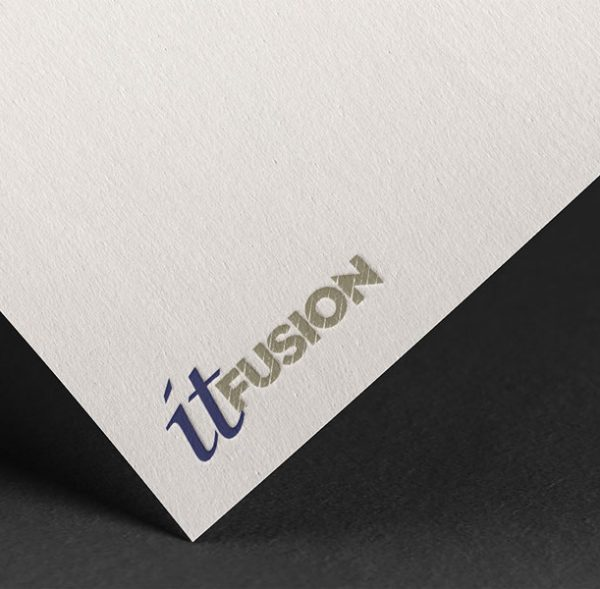 logo dizajn za it fusion