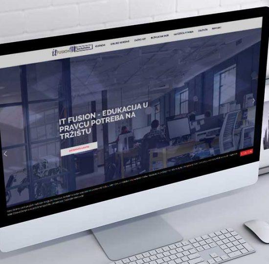 izrada sajta za it fusion
