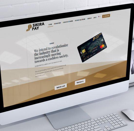 izrada sajta za sikirapay mastercard