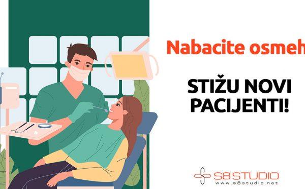 izrada sajta za stomatološke ordinacije