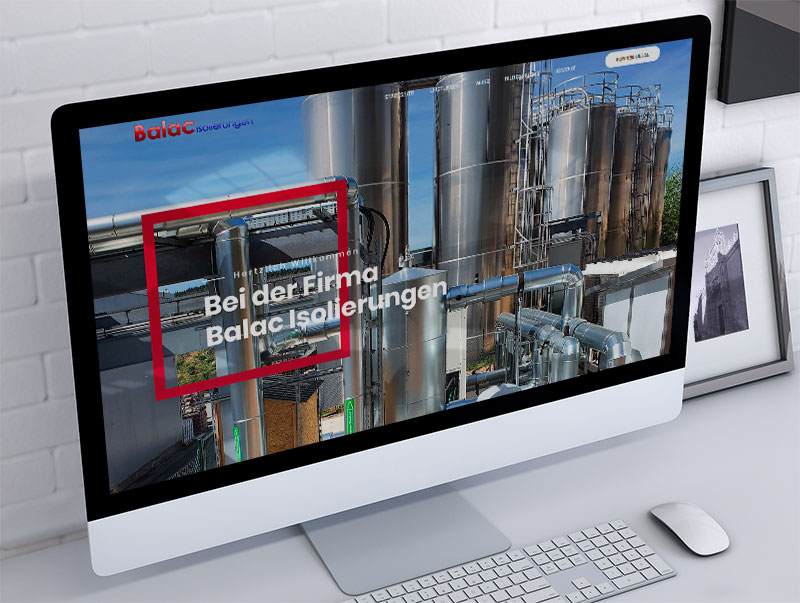 izrada sajta za Balac Isolierungen