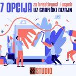 7 opcija za kreativnost i uspeh uz grafički dizajn
