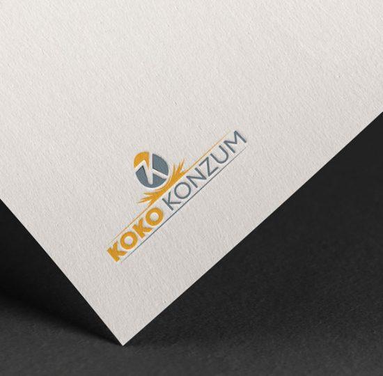 koko konzum, logo dizajn