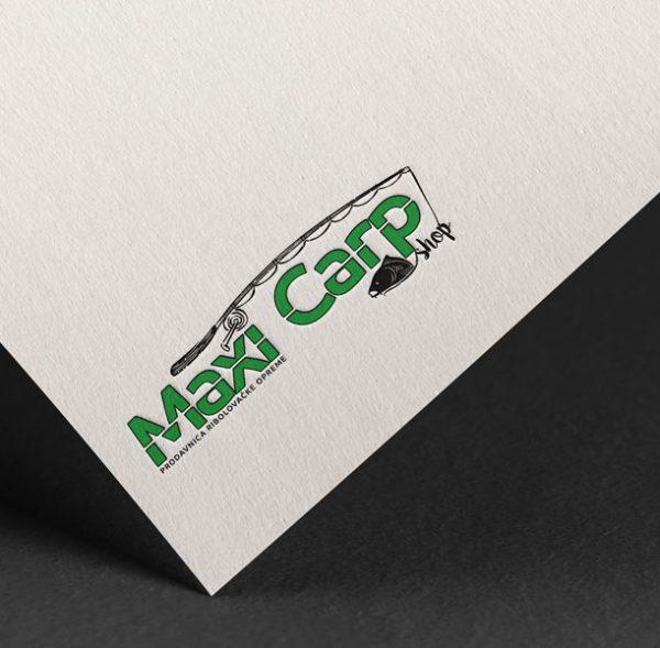 maxi carp shop logo dizajn