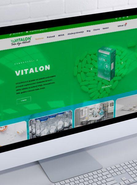 izrada internet prodavnice za vitalon