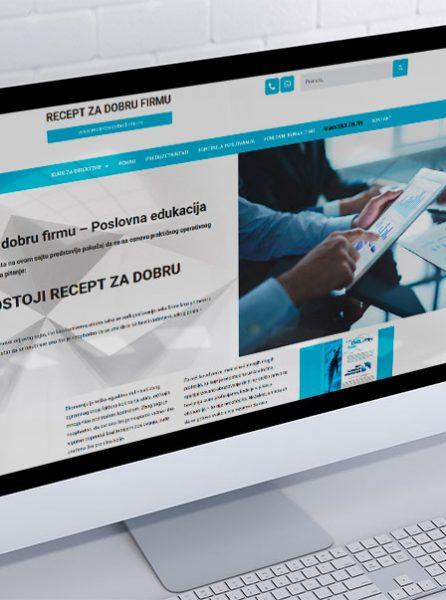 izrada sajta za recept za dobru firmu